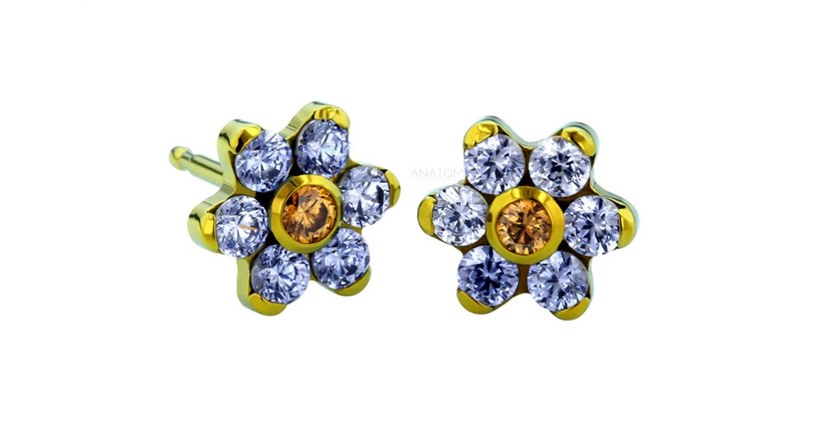 image from d silver for diamond joshua earrings flower