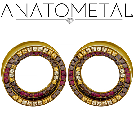 jewelry double orbit eyelets 0084